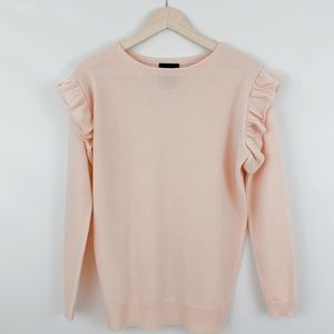 Magaschoni 100% Cashmere Pink Sweater
